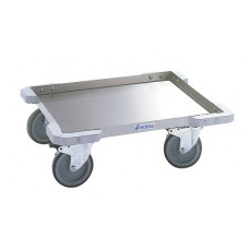 Chariot porte casiers de lavage 50x50