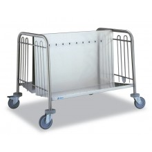 Chariot transport d'assiettes