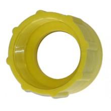 Adaptateur pompe vide fût jaune