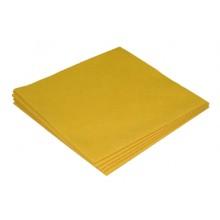 Sachet 5 x Micro-Fibre-Non-Tissée 40 x 38 cm jaune ? 130 gr/m²