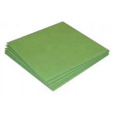 Sachet 5 x Micro-Fibre-Non-Tissée 40 x 38 cm vert ? 130 gr/m²