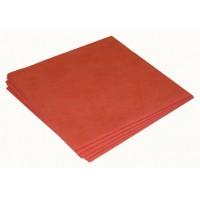 Sachet 5 x Micro-Fibre-Non-Tissée 40 x 38 cm rouge ? 130 gr/m²