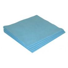Sachet 5 x Micro-Fibre-Non-Tissée 40 x 38 cm bleu ? 130 gr/m²