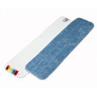 Mop Microfibre 60 cm bleu avec velcro et codes couleurs