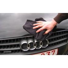 MICRO FIBRE 5xTRICOT SOFT BLACK 40x40 NOIR 290GR/M2 SPECIAL AUTO