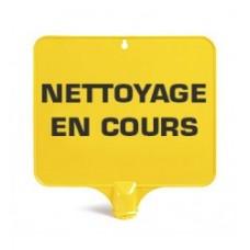 PANNEAU RECTANGULAIRE NETTOYAGE EN COURS