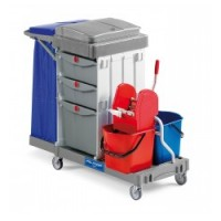 CHARIOT ALPHA 15024 SECURITY LINE + ROUES STANDARD 100MM