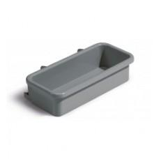 BAC PLAST LATERAL 50X19CM GRIS FONCE