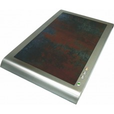 Plaque chauffante céramique extra plate (gris)